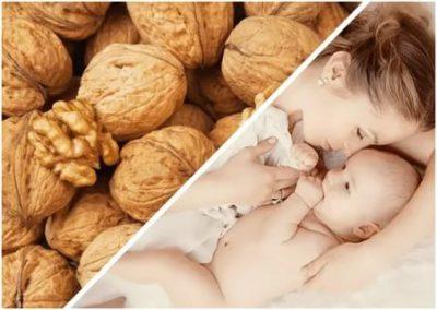 Можно ли кормящей маме есть орехи