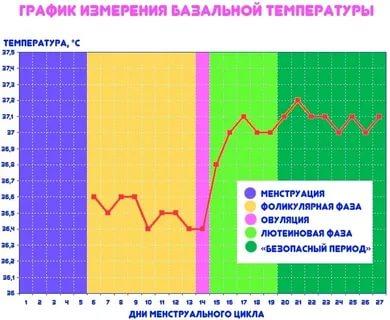 Какой должна быть базальная температура во время беременности