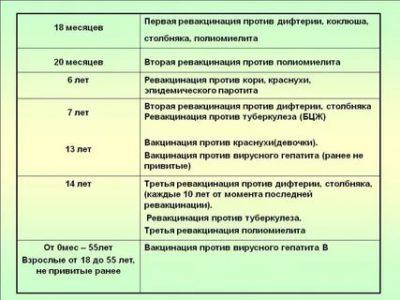 Как долго действует прививка от дифтерии