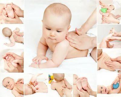 Когда можно делать массаж новорожденному ребенку