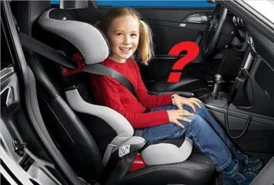 Можно ли сажать ребенка 7 лет на переднее сиденье