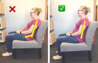 Как правильно сидеть во время беременности