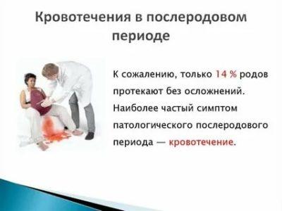 Сколько по времени идет кровь после родов