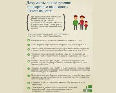 Можно ли получить налоговый вычет на ребенка за предыдущие годы