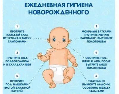 Как правильно нужно ухаживать за новорожденным