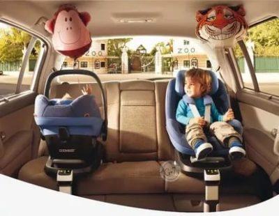 Можно ли ставить детское автокресло посередине