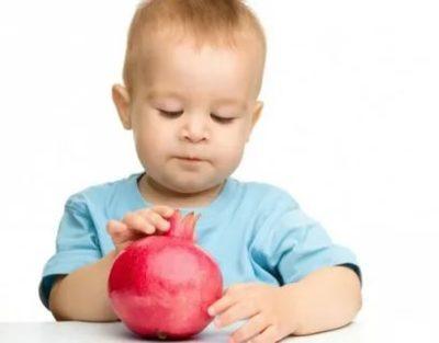В каком возрасте можно давать ребенку гранат