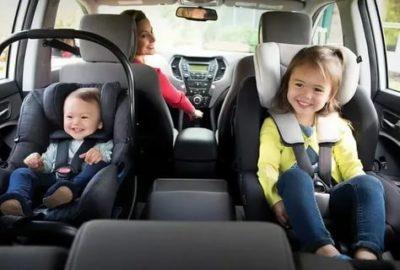 В каком возрасте можно перевозить детей без кресла