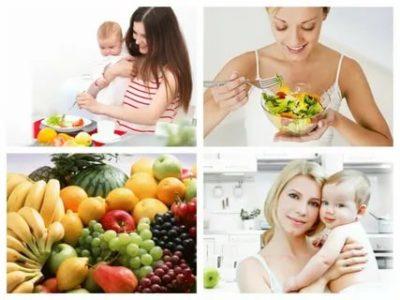 Как правильно питаться кормящей маме
