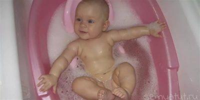 Какая должна быть температура воды для купания новорожденного