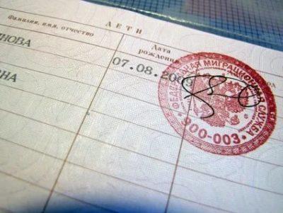 Какие документы нужны для того чтобы вписать ребенка в паспорт