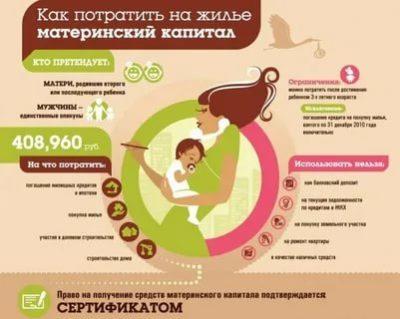 Что можно делать с материнским капиталом