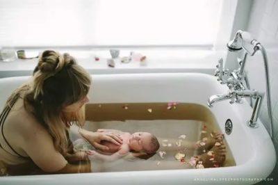 Когда после родов можно лежать в ванной