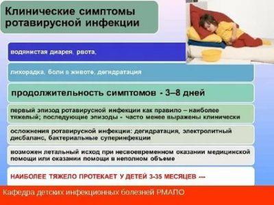 Как проявляется ротавирус у детей