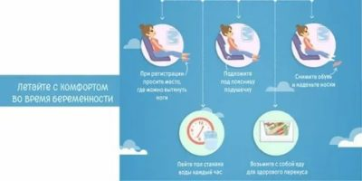 На каком сроке беременности можно летать на отдых