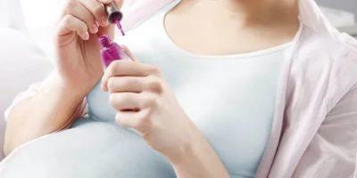 Можно ли делать гель лак во время беременности