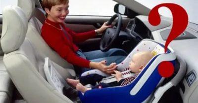 Можно ли возить ребенка на переднем сидении в газели