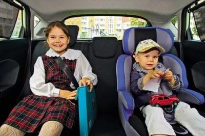 Можно ли перевозить детей до 7 лет в бустере
