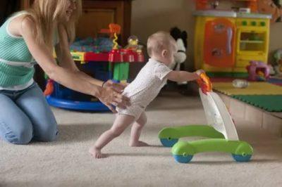 Как долго ваш ребенок учился ходить