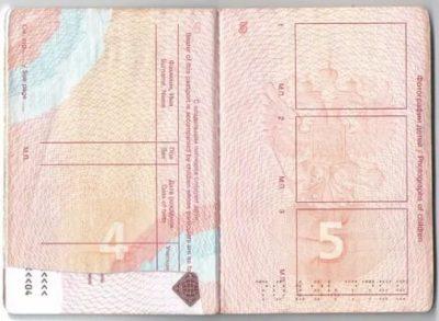 Как вписать ребенка в свой загранпаспорт