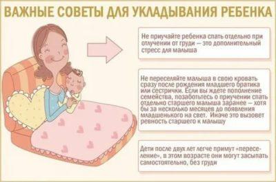 В каком возрасте ребенок должен засыпать самостоятельно