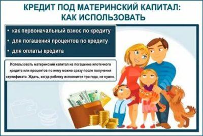 Можно ли материнский капитал на погашение займа