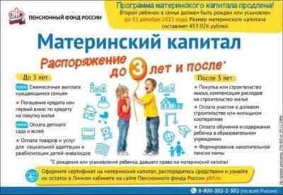 Можно ли получить материнский капитал без регистрации