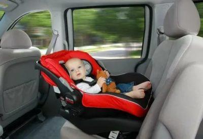 Как перевозить детей на машине