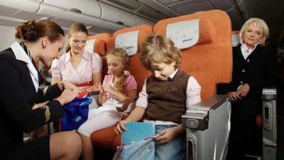 Можно ли летать ребенку без родителей