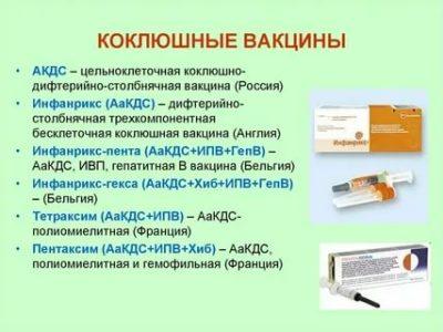 Для чего нужно делать прививку Акдс