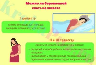 Можно ли спать на животе на 17 неделе беременности