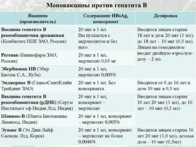 Сколько лет действует прививка от гепатита Б