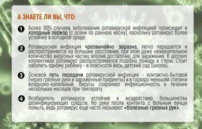 Сколько длится Ротавирусная инфекция у детей