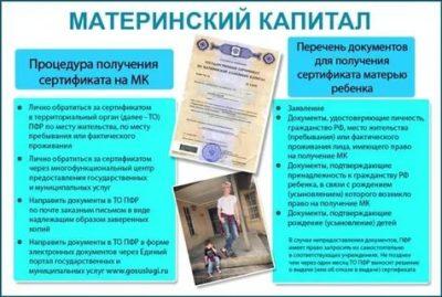 Какие документы нужны для получения материнского капитала в Мфц