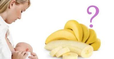 Можно ли есть бананы при кормлении грудью