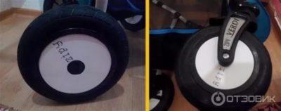 Как снять колеса с коляски Верди Зиппи
