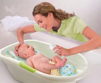 Как купать новорожденного температура воды