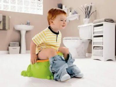 Как приучить ребенка к горшку какать