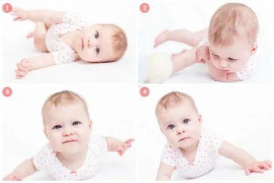 В каком возрасте дети начинают переворачиваться на бок