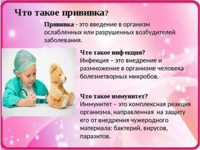 Что такое прививка