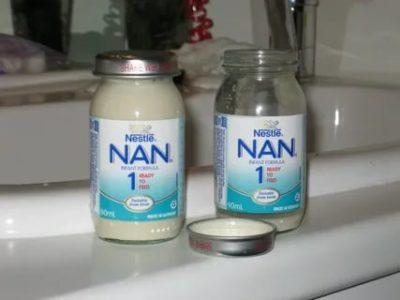 Можно ли хранить готовую смесь Нан в холодильнике