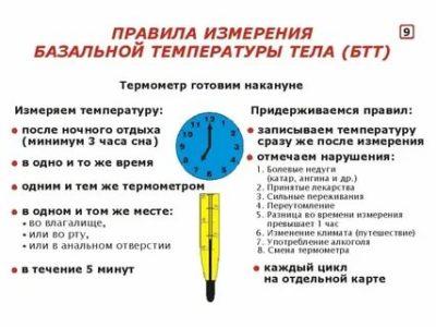 Сколько по времени нужно измерять базальную температуру